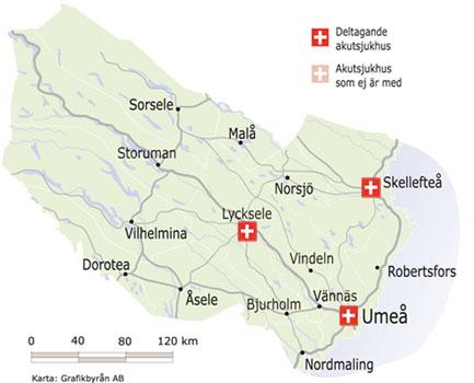 västerbotten karta Landstinget Västerbotten   Transportstyrelsen västerbotten karta