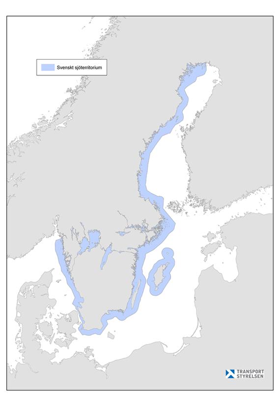 svenska vattendrag karta Karta över var förbudet gäller   Transportstyrelsen svenska vattendrag karta