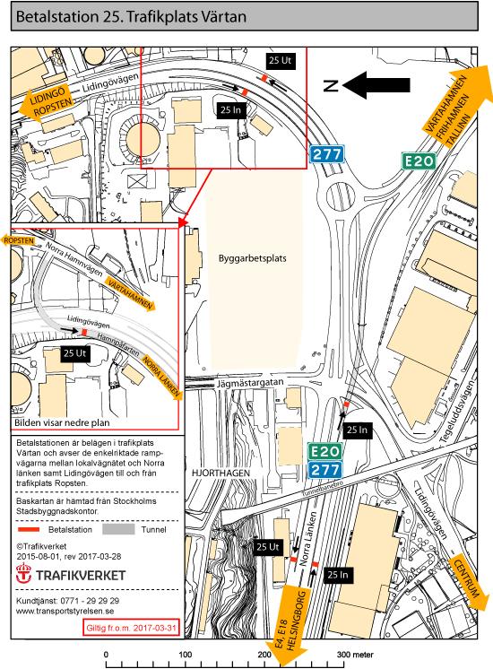 Karta Stockholms Universitet.Betalstationernas Placering I Stockholm Transportstyrelsen